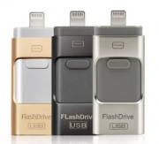 Флешка для Айфона iPhone 3 в 1 Flash drive 32 gb Android Флэшка iPad Тернополь